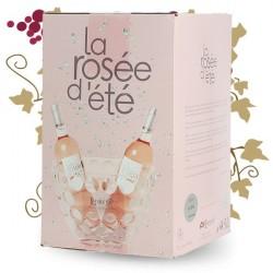 LA ROSEE D'ETE Vin Rosé domaine LORGERIL BIB 5 Litres