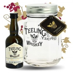 TEELING Irish Whiskey Small Batch 5 cl + un verre JAR