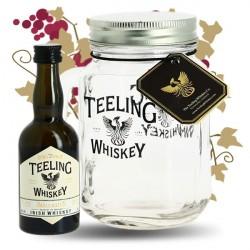 TEELING Irish Whiskey Small Batch 5 cl + un verre JAR