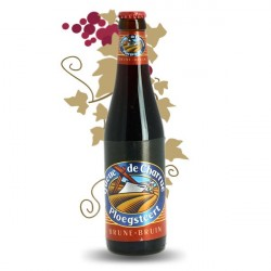 QUEUE DE CHARRUE BIERE BELGE BRUNE 33 cl