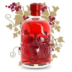 ABSINTHE CHILI RED HEAD SKULL 50 cl