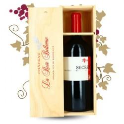 La Rose Bellevue Bordeaux Blaye Cuvée SECRET 2014 JEROBOAM Caisse Bois