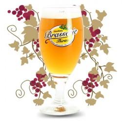 VERRE à Bière Brasserie Thiriez à ESQUELBECQ