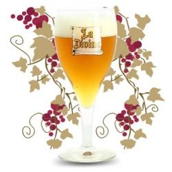 VERRE à Bière la DIVINE de Silly