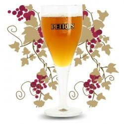 VERRE à Bière PETRUS