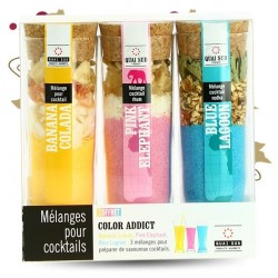 COFFRET COLOR ADDICT 3 Cocktails QUAI SUD