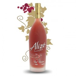 ALIZE Red Passion Liqueur a base de Cognac & Fruits de la Passion 1 litre