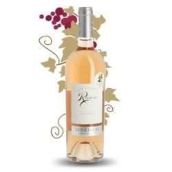 MINERVOIS Rosé Château RIVIERE 2015 75 cl