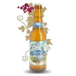 Bière blanche artisanale Brasserie du Mont Blanc La Blanche 33cl