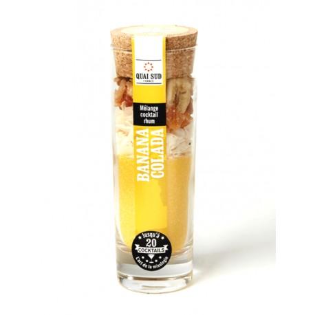 Melange Cocktail  Banana Colada Quai Sud 100G
