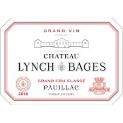 LYNCH BAGES 2001 5ème Grand Cru Classé