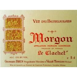 MORGON Le Clachet Georges BRUN 1989 6 Litres Imperial
