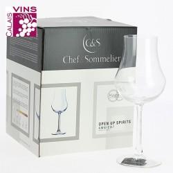 Set 4 Verres pour Spiritueux Chef et Sommeliers - Open Up Spirits