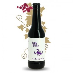 Bière LITTLE BICHOS Purple Scorpion Cacao Rye Imperial Stout