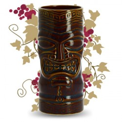 VERRE COCKTAIL TIKI BROWN 59CL