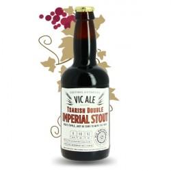 Bière Brune Imerial TSARISH Double Brasserie VIC