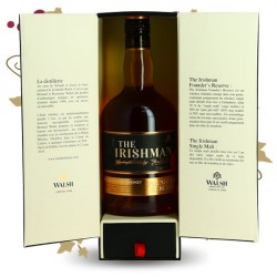 THE IRISHMAN Founder's Reserve Coffret + 2 mignonettes Single Malt