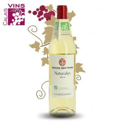 Chardonnay Naturalys 2013 Gérard Bertrand vin bio 75  cl