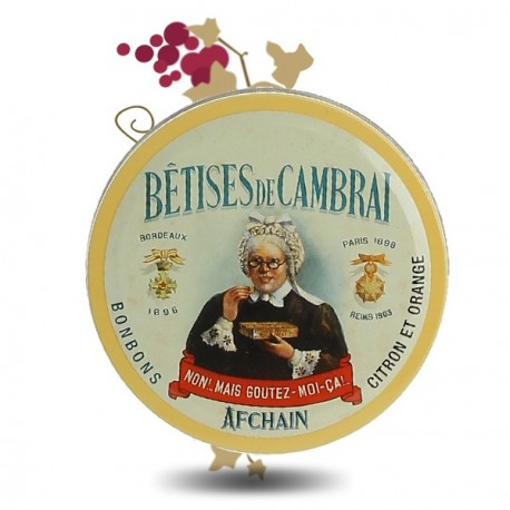 Bêtises de Cambrai Citron & Orange 75g