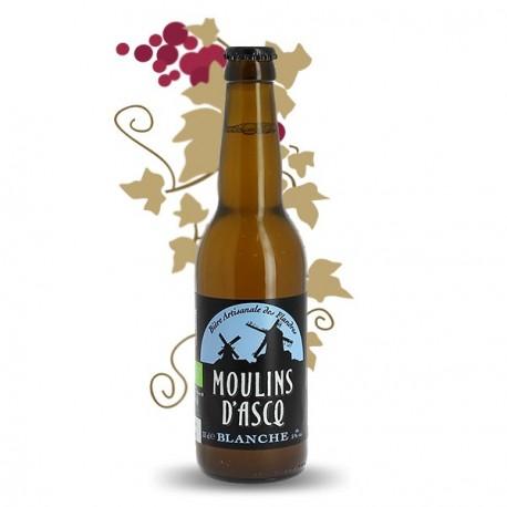 MOULINS D'ASCQ Bière Blanche BIO 33cl