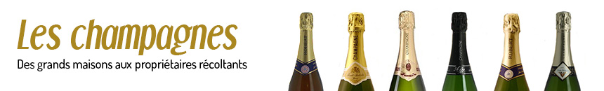 Les champagnes et bulles