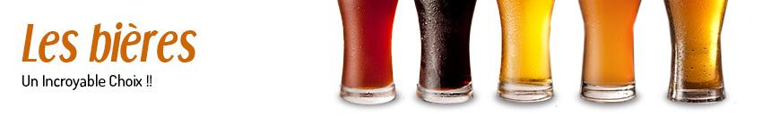 Bières belges, bières du monde, blondes , ambrées, brunes, bières d'abbayes et bières trappistes