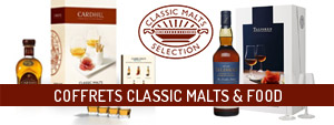 coffrets classic malts & food