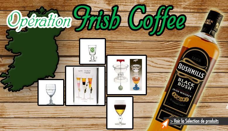 Découvrez notre gamme de produits pour le fameux cocktail Irish Coffee